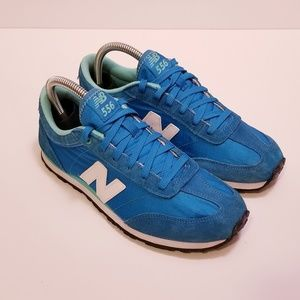New Balance Size 8 Blue/White Sneakers Shoes